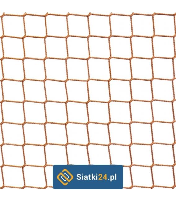 Siatka na woliery beżowa / 4,5x4,5 3mm