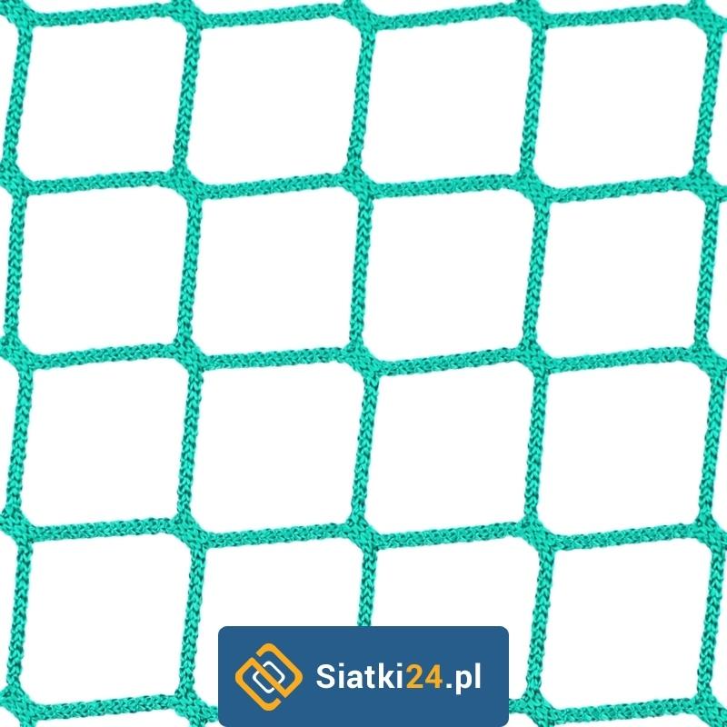 Siatka na ogrodzenie boiska - 4,5x4,5 4mm PP