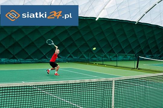 Wytrzymałe siatki polipropylenowe na korty tenisowe
