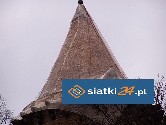 Zabezpieczenie budynków siatką PE - siatki na elewacje