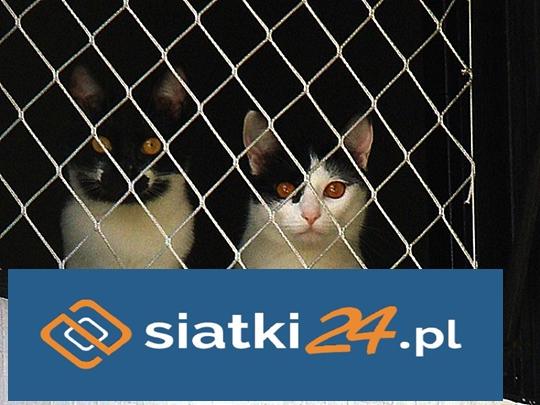 polipropylenowa siatka zabezpieczająca dla kota