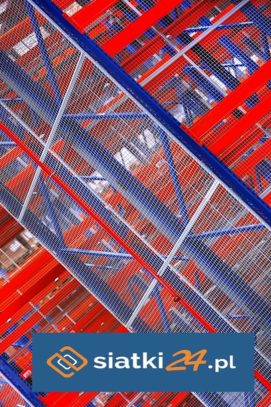 Zabezpieczenie regałów na magazynach - ochrona polipropylenem