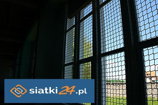 Ochrona okien siatką polipropylenową