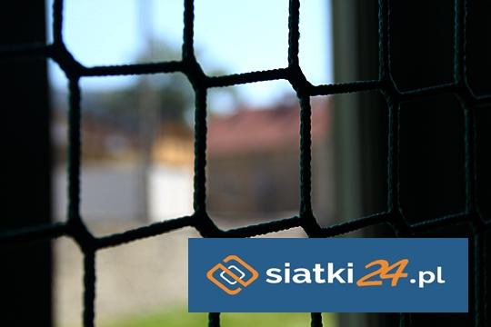 Zabezpieczenie balkonów siatką polipropylenową
