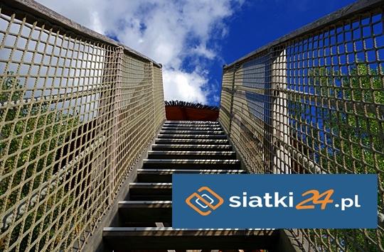 Zabezpieczająca siatka na schody