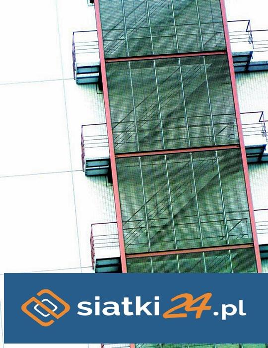 Siatka na schody do prac budowlanych