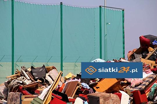 Zabezpieczenie wysypiska śmieci